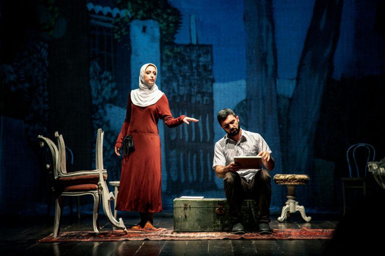 Foto Onstage Mio Zio Samir spettacolo teatrale compagnia lumen progetti arti teatro